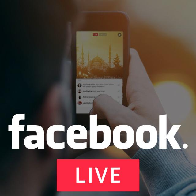 Facebook for Journalism – FacebookLive!